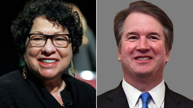 """When you're charged with working together for most of the remainder of your life, you have to create a relationship,"" Sotomayor said.  (Photo: GETTY EDITORIAL)"