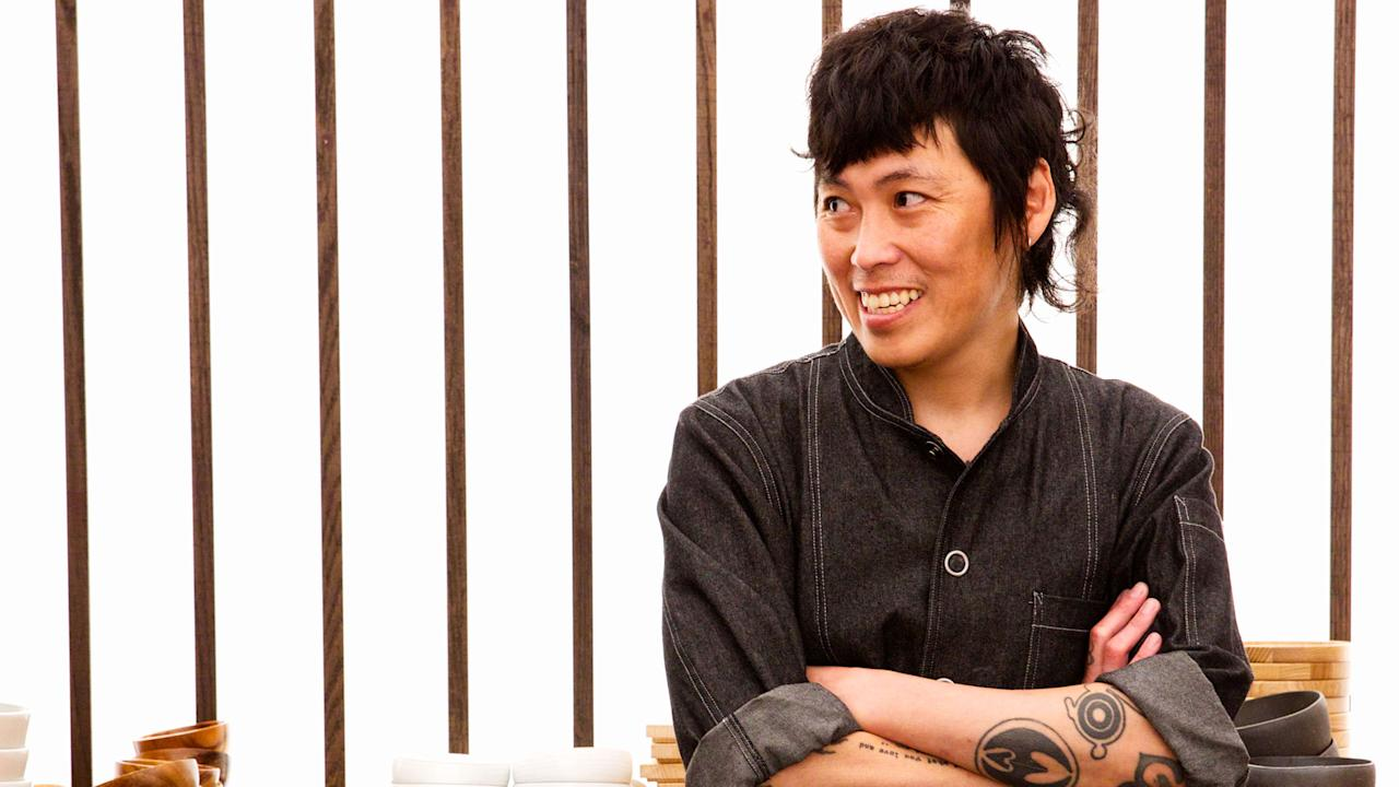 """<p>At its highest level, <a rel=""""nofollow"""" href=""""http://www.foodandwine.com/slideshows/how-make-sushi"""">sushi</a> is still very much a discipline that values custom over personality, but what might label Yoshi Okai a heretic in the <em>sushi-yas</em> of Tokyo is exactly what makes him a Best New Chef in our book. His work at <a rel=""""nofollow"""" href=""""http://otokoaustin.com/"""">Otoko</a> feels reverential of Japanese traditions—the fetishistic attention to rice; the hand-shaping of nigiri; the choreography of service, piece-by-piece, hand-to-mouth. But the rest of it is where the magic happens. You might find Meyer lemon or finger lime tarting up your ivory king salmon nigiri, or a finishing sprinkle of sea salt and Arbequina olive oil shaken from an elegant bitters dasher, all departures from tradition that find the sweet spot between sashimi and crudo. But it's the way Yoshi takes his region into account that most distinguishes his work. He seamlessly incorporates hyper-local ingredients like henbit and edible flowers and deploys one particularly smart hat tip to Central Texas barbecue that somehow, remarkably, manages to give sushi an unmistakable Lone Star terroir.</p>"""