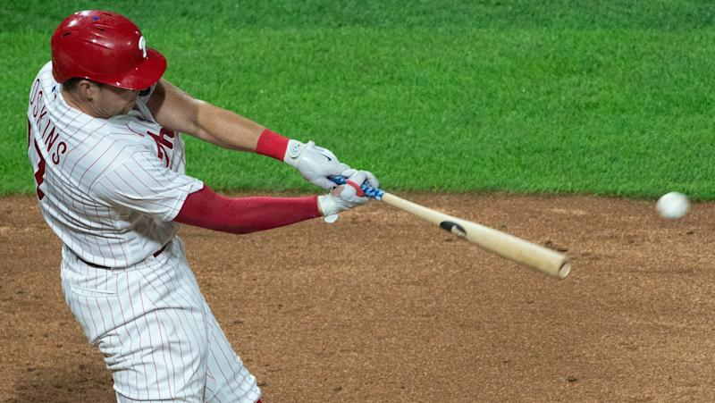 Where's red-hot Rhys Hoskins? Look at the numbers