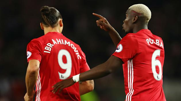 "Zlatan Ibrahimovic has been ""like a big brother"" for Paul Pogba since the Frenchman's return to Manchester United."