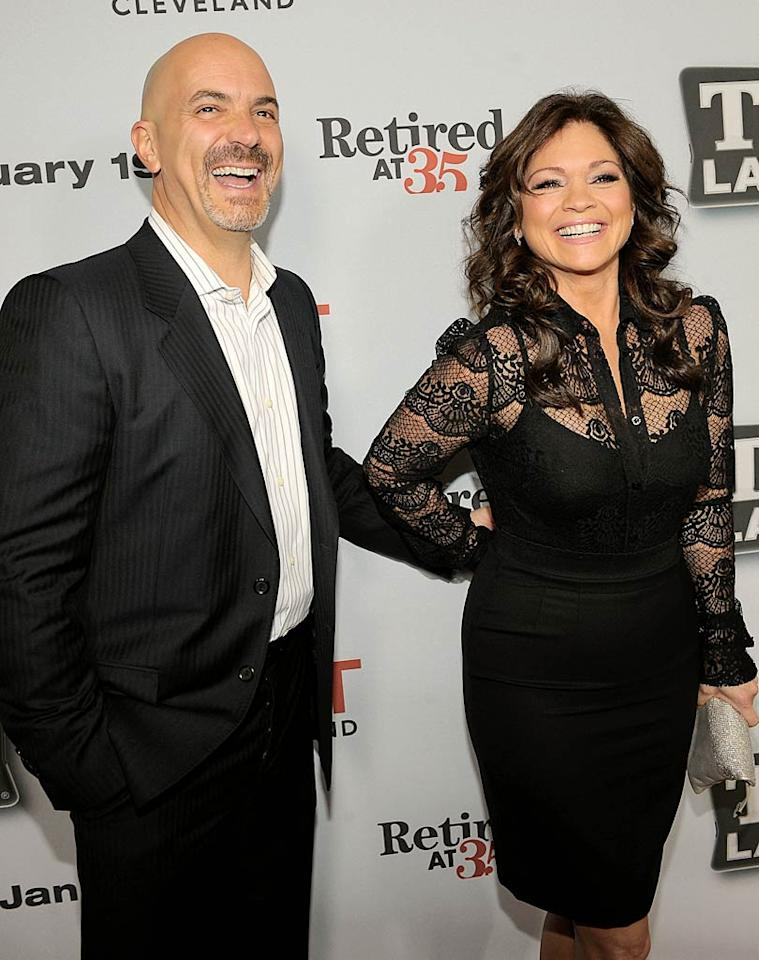 "With her weight loss and successful show ""Hot in Cleveland,"" Valerie Bertinelli continued her second act as she rang in 2011 with a January 1 wedding in Malibu, California, to financial planner Tom Vitale, whom she began dating in 2004. ""I could have spent the rest of my life with Tom and not be married, but I wanted to call him my husband,"" the 50-year-old told <i>People</i>. ""I really wanted to share how I feel about Tom with the people I love."""