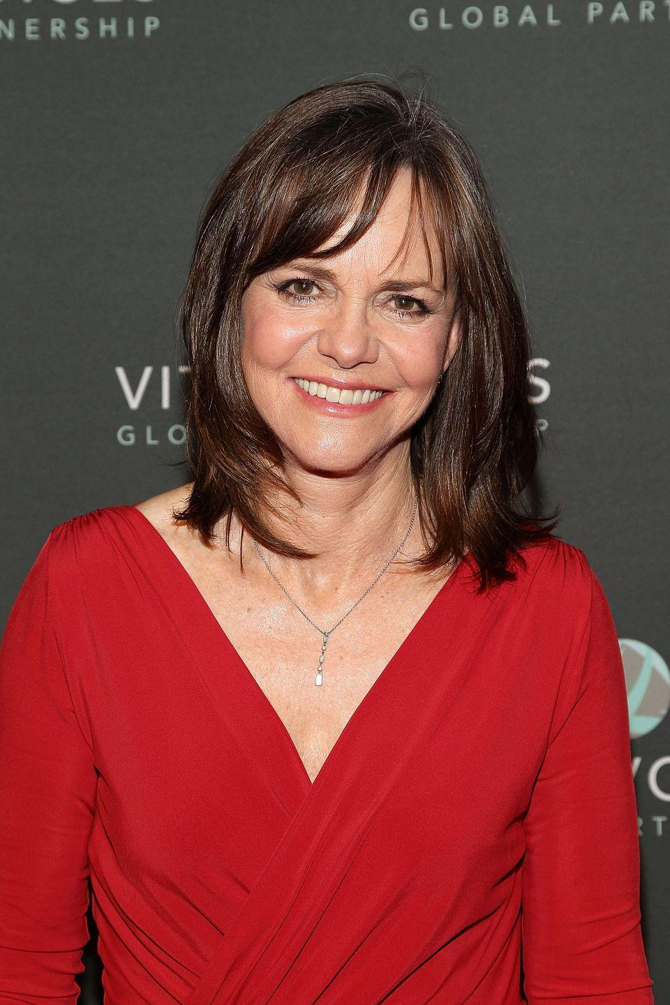 """<p>Field was not a fan of the <em>Spiderman </em>sequel. Field <a href=""""http://www.vulture.com/2016/03/sally-field-spider-man.html"""" rel=""""nofollow noopener"""" target=""""_blank"""" data-ylk=""""slk:told Howard Stern"""" class=""""link rapid-noclick-resp"""">told Howard Stern</a>, """"It's really hard to find a three-dimensional character in it, and you work it as much as you can, but you can't put ten pounds of s--t in a five-pound bag.""""</p>"""