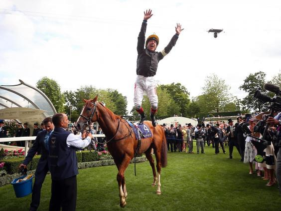 Frankie Dettori won his seventh Ascot Gold Cup (Getty)