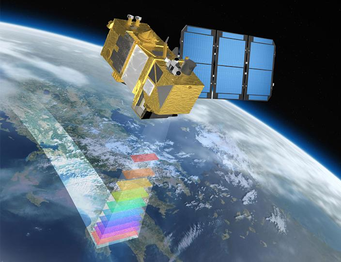 Artwork: Sentinel-2 is owned by the EU and managed by the European Space Agency