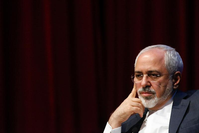European foreign ministers will meet their Iranian counterpart Mohamed Javad Zarif on Monday, a European source said (AFP Photo/Kena Betancur)