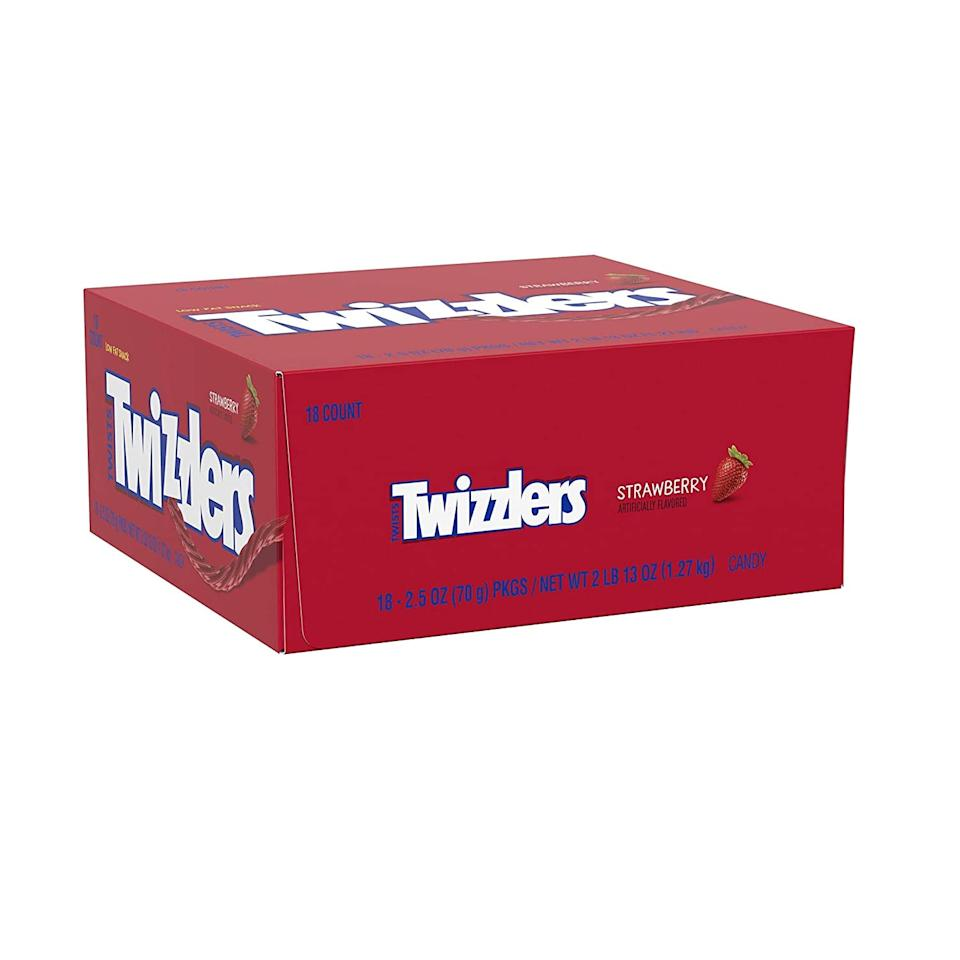 "<p><product href=""https://www.amazon.com/Twizzlers-Strawberry-Twists-2-5-packs/dp/B06X3W4SKK/ref=sxts_sxwds-deals?crid=3I1R5L2WUGBT1&amp;cv_ct_cx=halloween+candy&amp;dchild=1&amp;keywords=halloween+candy&amp;pd_rd_i=B06X3W4SKK&amp;pd_rd_r=b11b8560-ea94-4659-a35f-cabf86815413&amp;pd_rd_w=mSZqm&amp;pd_rd_wg=vpZFY&amp;pf_rd_p=6c860ca1-fc29-4a55-94e6-14faf981dcfc&amp;pf_rd_r=JW5Z1ESYFHB15ZBYFWRG&amp;psc=1&amp;qid=1602707717&amp;smid=ATVPDKIKX0DER&amp;sprefix=halloween+can%2Cprime-day%2C221&amp;sr=1-3-ca0a003d-df9b-43cf-8247-d3e4837ddb52"" target=""_blank"" class=""ga-track"" data-ga-category=""internal click"" data-ga-label=""https://www.amazon.com/Twizzlers-Strawberry-Twists-2-5-packs/dp/B06X3W4SKK/ref=sxts_sxwds-deals?crid=3I1R5L2WUGBT1&amp;cv_ct_cx=halloween+candy&amp;dchild=1&amp;keywords=halloween+candy&amp;pd_rd_i=B06X3W4SKK&amp;pd_rd_r=b11b8560-ea94-4659-a35f-cabf86815413&amp;pd_rd_w=mSZqm&amp;pd_rd_wg=vpZFY&amp;pf_rd_p=6c860ca1-fc29-4a55-94e6-14faf981dcfc&amp;pf_rd_r=JW5Z1ESYFHB15ZBYFWRG&amp;psc=1&amp;qid=1602707717&amp;smid=ATVPDKIKX0DER&amp;sprefix=halloween+can%2Cprime-day%2C221&amp;sr=1-3-ca0a003d-df9b-43cf-8247-d3e4837ddb52"" data-ga-action=""body text link"">Twizzlers Halloween Candy</product> ($11, originally $16)</p>"