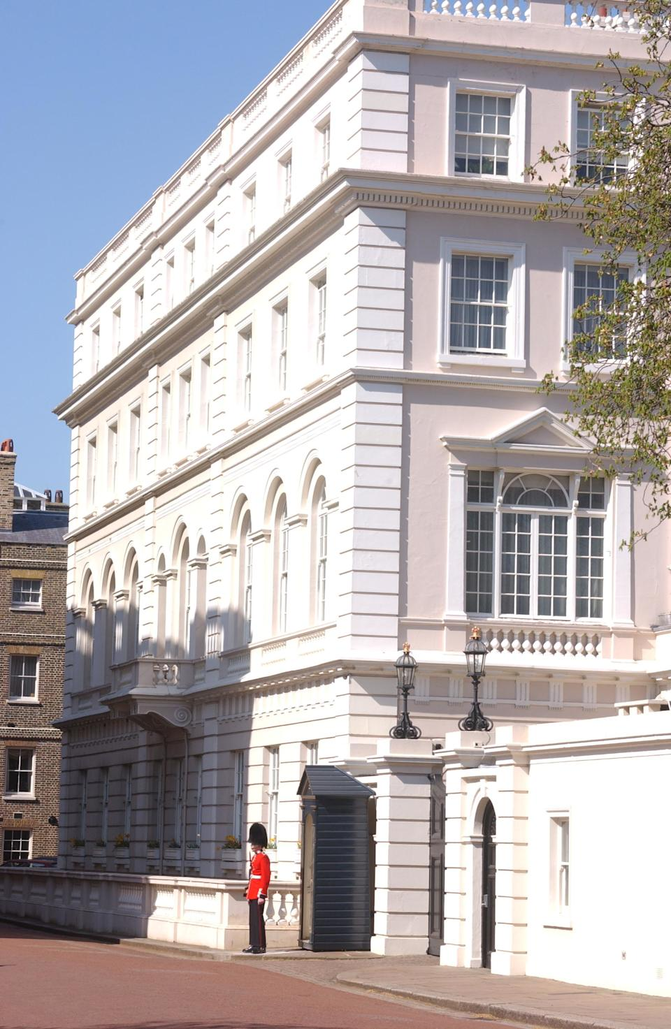 File photo: The Queen Mother's former residence, Clarence House. (Photo by rune hellestad/Corbis via Getty Images)