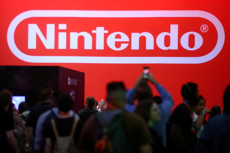 FILE PHOTO - The Nintendo booth is shown at the E3 2017 Electronic Entertainment Expo in Los Angeles