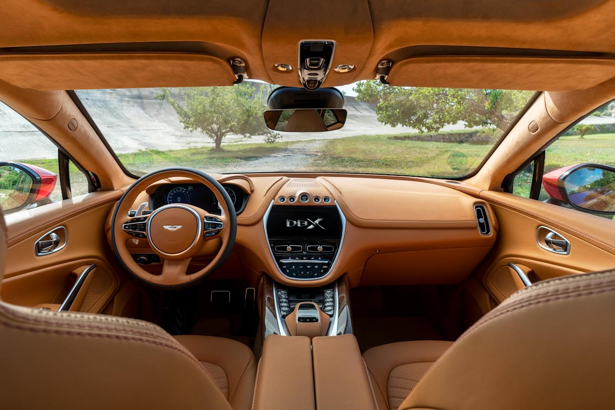 The DBX has a recommended retail price of £158,000 (Aston Martin/PA)