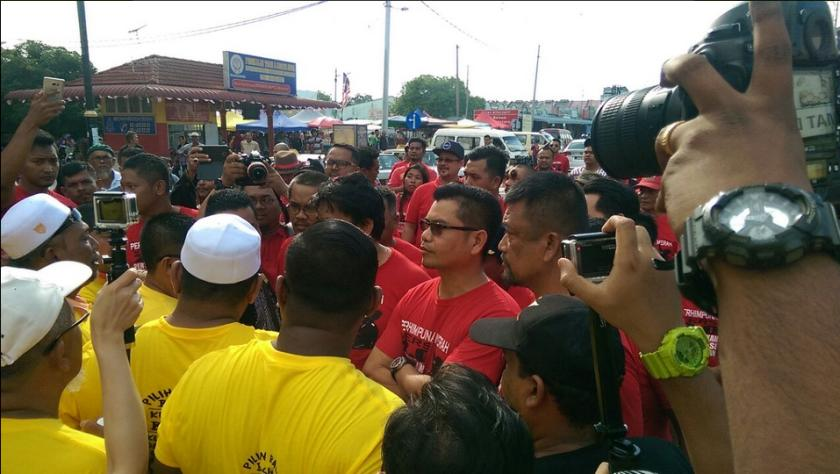 Bersih's recent nationwide convoy was marred with counter convoys by the Red Shirts movement led by Sungai Besar Umno chief Datuk Jamal Yunos, which had led to scuffles and reports of violence. ― Picture courtesy of Bersih's Twitter feed