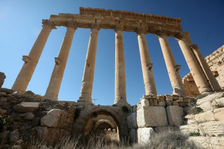 Ruins of Syria's Roman-era ancient city of Palmyra
