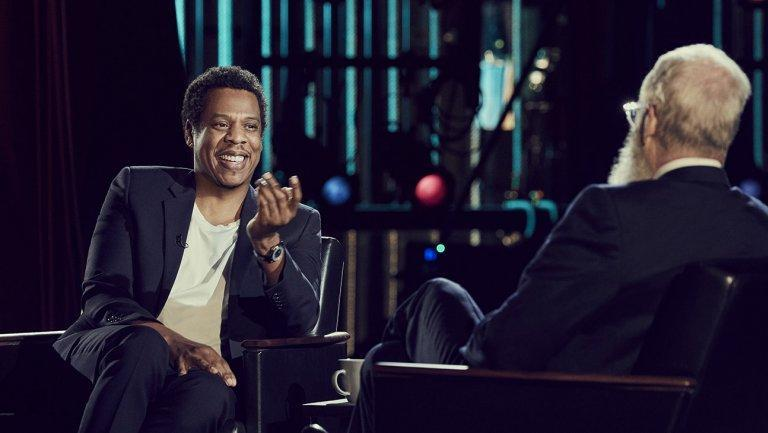 Jay-Z on 'My Next Guest Needs No Introduction with David Letterman.' (Photo: <span>Joe Pugliese/Netflix</span>)