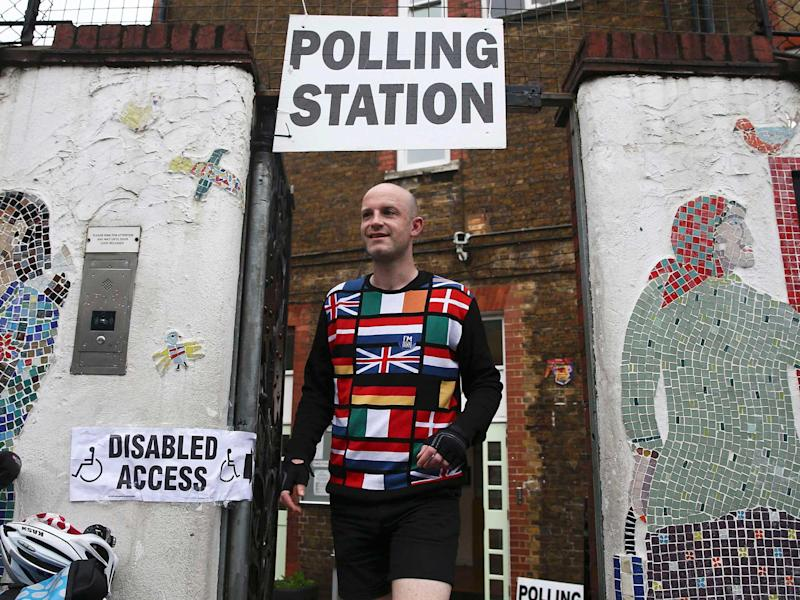 The voter registration site may have been hit by 'botnets' ahead of the EU referendum: REUTERS