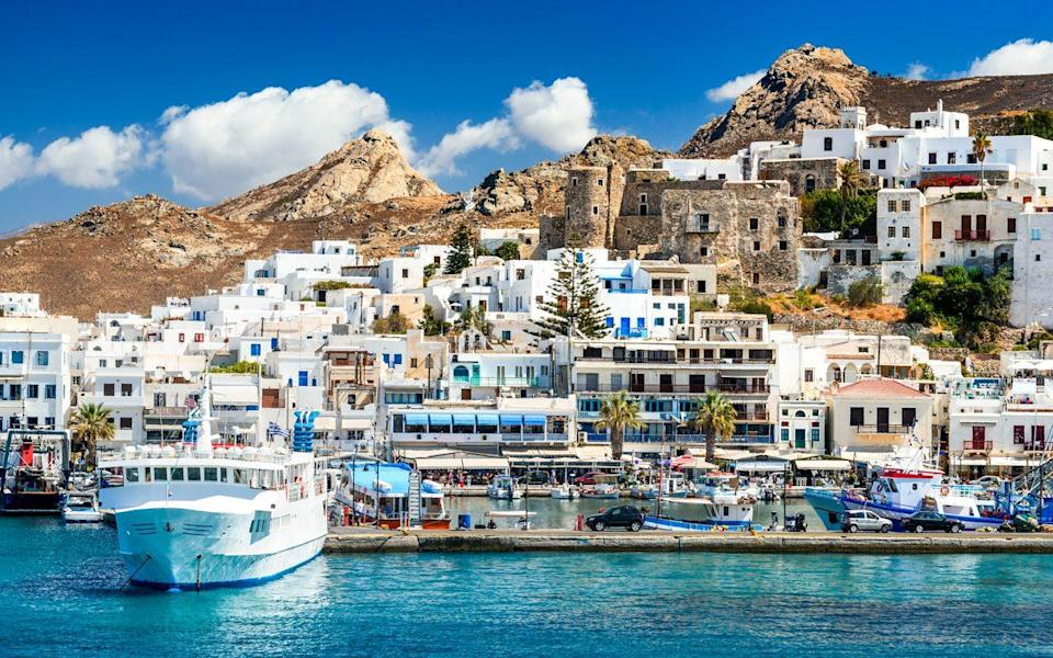 The island of Naxos in the Cyclades  - Emi Cristea