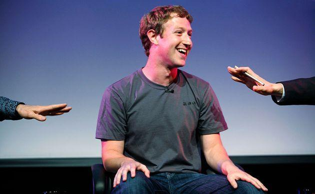 Mark Zuckerberg, Facebook CEO appears at the Computer History Museum in Mountain View Calif. for a 2 hour talk with The Facebook Effect, Author David Kirkpatrick and NPR's Guy Raz. Zuckerberg announced earlier in the day that Facebook surpassed the 500 million active users milestone. (Photo by Kim Kulish/Corbis via Getty Images) (Photo: Kim Kulish via Corbis via Getty Images)