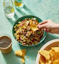"""<p>This bright, fresh dip is packed with beans and veggies to balance out all the cheese on the snack table.</p><p><em><a href=""""https://www.goodhousekeeping.com/food-recipes/healthy/a31912730/cowboy-caviar-recipe/"""" rel=""""nofollow noopener"""" target=""""_blank"""" data-ylk=""""slk:Get the recipe for Cowboy Caviar »"""" class=""""link rapid-noclick-resp"""">Get the recipe for Cowboy Caviar »</a></em></p><p><strong>RELATED: </strong><a href=""""https://www.goodhousekeeping.com/food-recipes/healthy/g5076/healthy-super-bowl-recipes/"""" rel=""""nofollow noopener"""" target=""""_blank"""" data-ylk=""""slk:40 Secretly Healthy Super Bowl Recipes That Actually Taste Amazing"""" class=""""link rapid-noclick-resp"""">40 Secretly Healthy Super Bowl Recipes That Actually Taste Amazing</a><br></p>"""