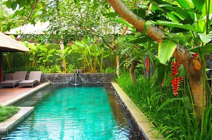 Take a dip in your own private pool any time you please. Photo: Jody Phan