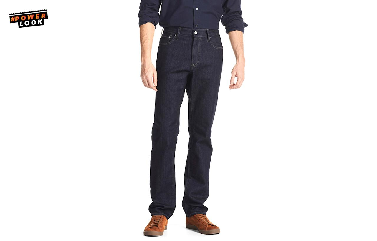 """<p>""""<span>Don't kill yourself trying to look fashionable [this summer.] Your fit is going to look a whole lot worse if you're passed out on the sidewalk from a heat stroke. I just got these </span><a rel=""""nofollow"""" href=""""https://www.uniqlo.com/us/en/men-miracle-air-regular-fit-tapered-jeans-182659.html""""><span>Uniqlo Miracle Air jeans</span></a><span> that will do the trick if you're a never-shorts person."""" <em><a rel=""""nofollow"""" href=""""https://twitter.com/camjwolf"""">Cam Wolf</a>, Racked Menswear Editor</em></span><br /><span>Men Miracle Air Regular Fit Tapered Jeans, <a rel=""""nofollow"""" href=""""https://www.uniqlo.com/us/en/men-miracle-air-regular-fit-tapered-jeans-182659.html"""">$49.90</a><br /><a rel=""""nofollow"""" href=""""https://www.uniqlo.com/us/en/home/"""">uniqlo.com</a></span> </p>"""