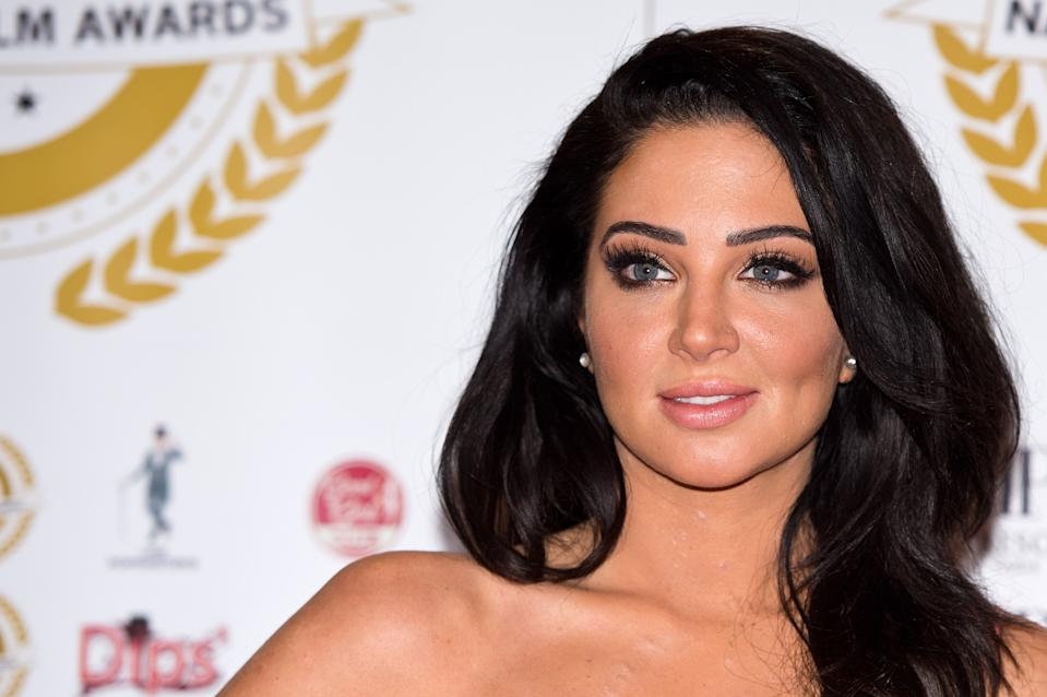 Tulisa Contostavlos attends the National Film Awards at Porchester Hall on March 31, 2015 in London, England.  (Photo by Ben A. Pruchnie/Getty Images)