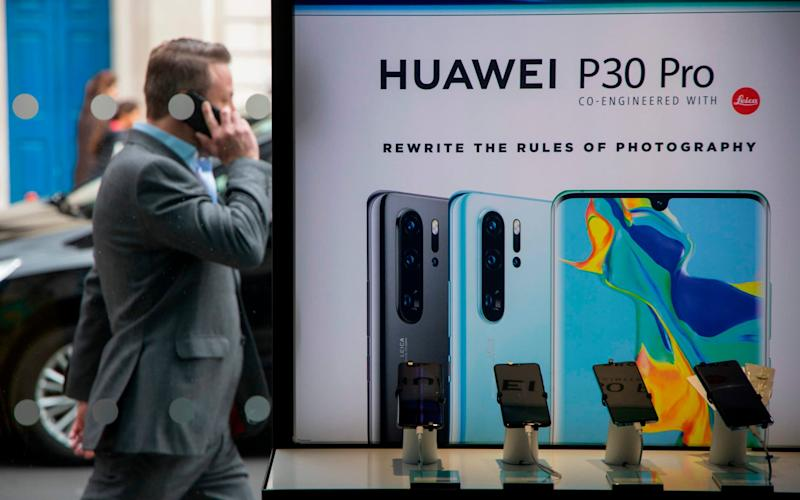 Google has blocked Huawei's access to Android to comply with a US order - AFP