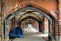 Shelters have had to cut the number of available beds to accommodate social distancing