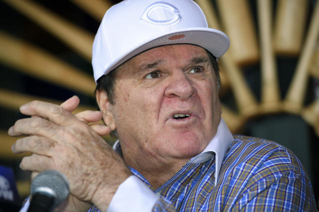 Pete Rose is getting divorced, and the proceedings have revealed some messy yet unsurprising details about his life. (AP Photo)