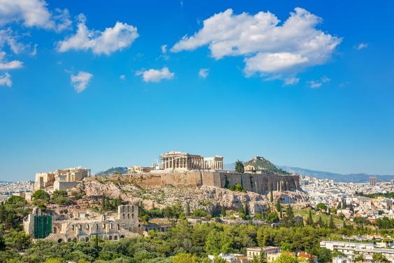 The Parthenon as part of the Acropolis complex (Getty/iStock)