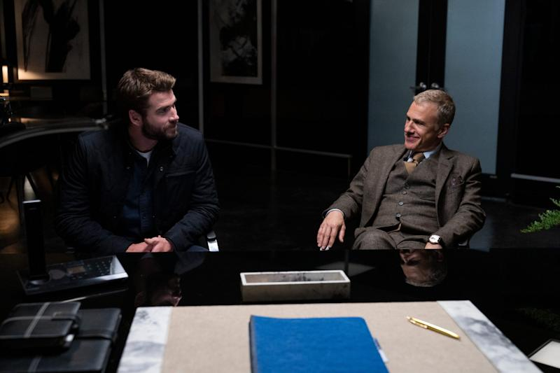 "Liam Hemsworth and Christoph Waltz dare the ""Most Dangerous Game"" on Quibi."