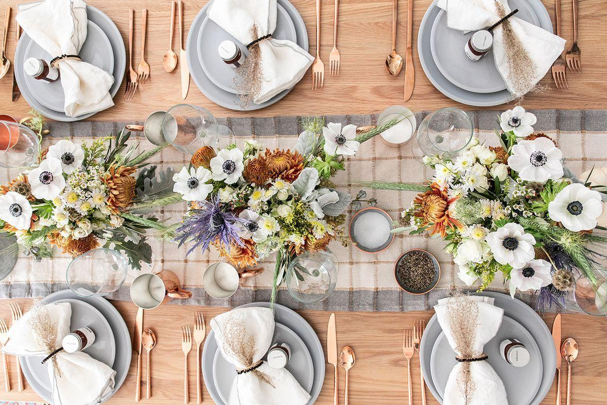 """<p>Think you can treat your Thanksgiving table settings like an afterthought? Think again! They may be small, but your table settings are one of the first things your guests see upon arriving at your home for <a href=""""https://www.countryliving.com/life/a25020918/what-day-is-thanksgiving/"""">Thanksgiving dinner</a>...so they're pretty important. In fact, they might be the <em>most</em> important element of the night, save for <a href=""""https://www.countryliving.com/food-drinks/g637/thanksgiving-menus/"""">the food itself</a>. <em></em>Long before <a href=""""https://www.countryliving.com/food-drinks/g1365/turkey-recipes/"""">the turkey's been carried out</a>, it's those <a href=""""https://www.countryliving.com/entertaining/g1538/diy-place-cards/"""">place cards</a> your friends and family will be staring at—so we suggest you make them as beautiful and inviting as possible. </p><p>Luckily for you, we've done most of the hard work when it comes to rounding up the best and most beautiful Thanksgiving table setting ideas out there. Browse through out list, then surprise your guests with a gorgeous, thoughtful tablescape this holiday season. From <a href=""""https://www.countryliving.com/entertaining/g2130/thanksgiving-centerpieces/"""">rustic centerpieces</a> to unique place cards, there are so many little things you can do to set the table with pizzazz and style. And whether you're looking for a more subdued, elegant look or something a little more glamorous, there's something on our list for you. Go ahead and steal one of these ideas, or simply use them as a jumping off point from which to dream up some <a href=""""https://www.countryliving.com/entertaining/g1371/thanksgiving-decorations/"""">Thanksgiving table decor</a> that's uniquely <em>you. </em></p>"""
