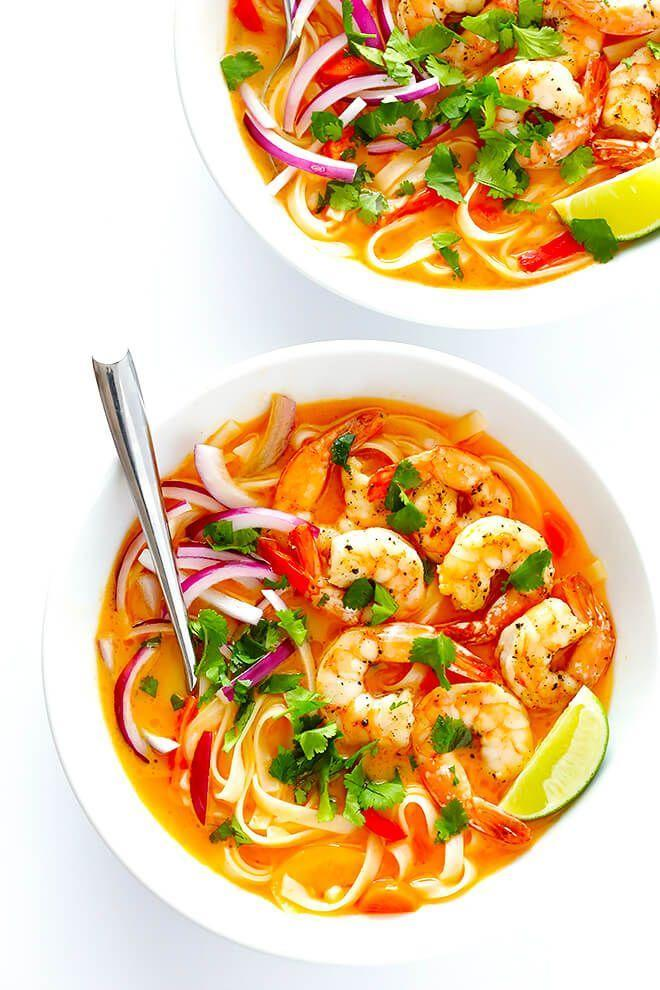 "<p>Use shrimp, chicken, or any other protein of choice in this gluten-free recipe.</p><p><strong>Get the recipe at <a href=""https://www.gimmesomeoven.com/comforting-shrimp-curry-noodle-bowls/"" rel=""nofollow noopener"" target=""_blank"" data-ylk=""slk:Gimme Some Oven"" class=""link rapid-noclick-resp"">Gimme Some Oven</a>.</strong></p><p><a class=""link rapid-noclick-resp"" href=""https://www.amazon.com/Cooks-Standard-12-Quart-Stainless-Stockpot/dp/B01M7RNBZA?tag=syn-yahoo-20&ascsubtag=%5Bartid%7C10050.g.3569%5Bsrc%7Cyahoo-us"" rel=""nofollow noopener"" target=""_blank"" data-ylk=""slk:SHOP STOCKPOTS"">SHOP STOCKPOTS</a></p>"