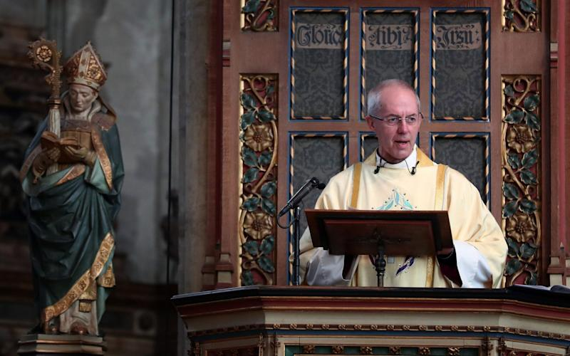 The Archbishop of Canterbury at Canterbury Cathedral - Credit: Gareth Fuller /PA