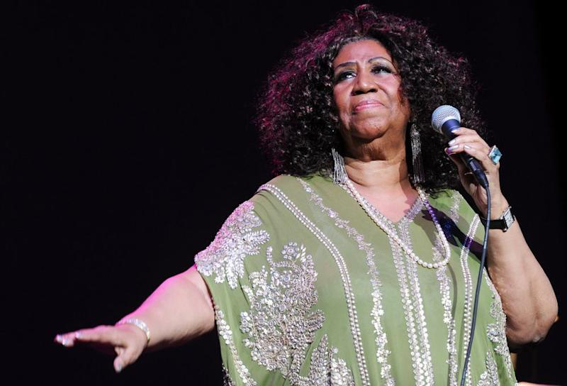 Aretha Franklin in 2012