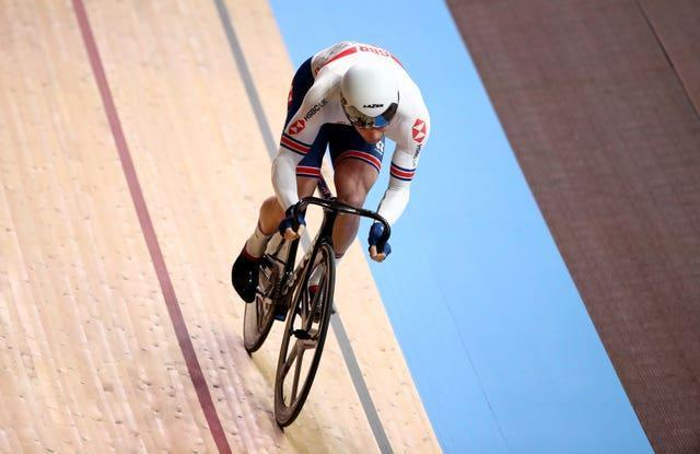 Great Britain's Jason Kenny will hope to add to his tally of six Olympic gold medals in the team sprint