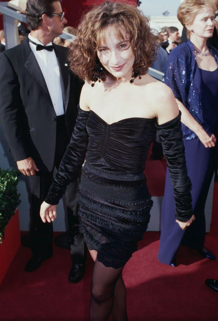 """<p>Jennifer Grey played the role of Jeanie Bueller in the John Hughes classic <em>Ferris Bueller's Day Off. </em>That movie's success continued her '80's stardom when she gained Hollywood's attention as Frances """"Baby"""" Houseman, starring opposite the late Patrick Swayze in 1987's <em>Dirty Dancing. </em>She was nominated for a Golden Globe for Best Actress for her role in the classic film.</p>"""