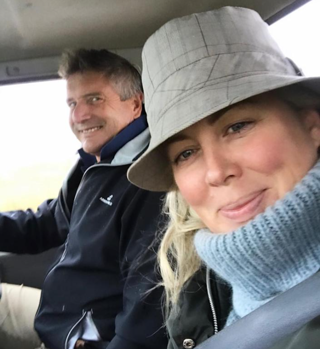 She moved to the Southern Highlands with her husband, Richard Lavendar. Photo: Instagram/Samantha Armytage