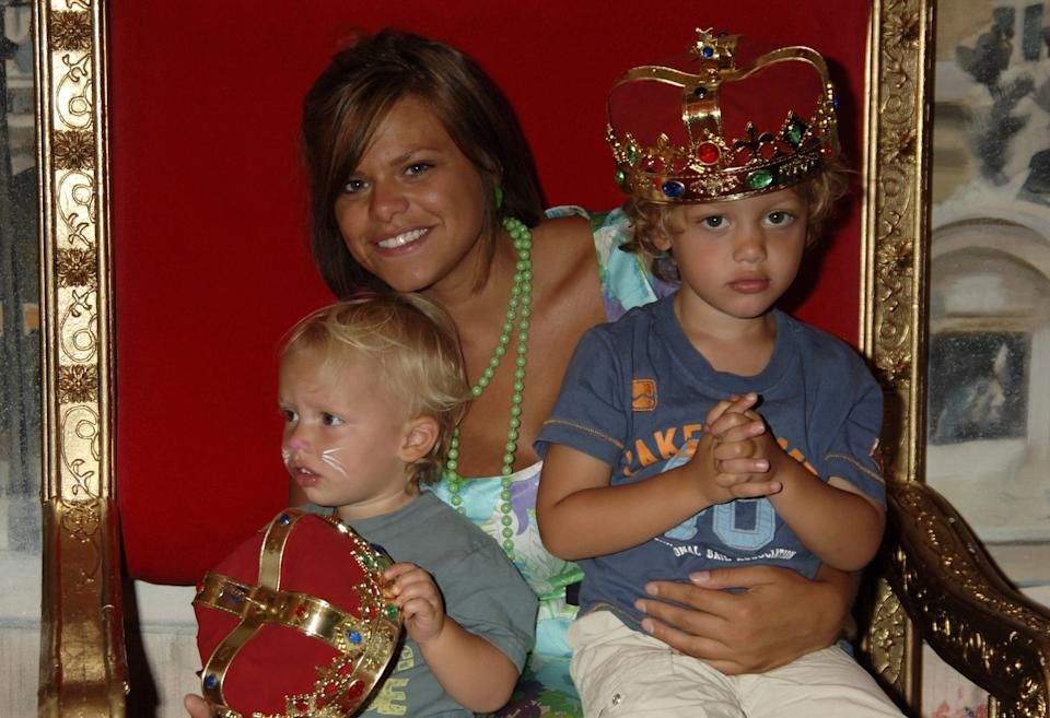 Jade Goody's son has paid tribute to his mother on what would've been her 39th birthday. (Photo by Dave M. Benett/Getty Images)