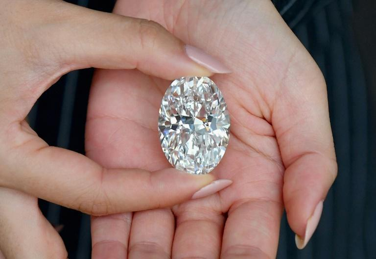 Rare White Diamond Up For Auction In Hong Kong