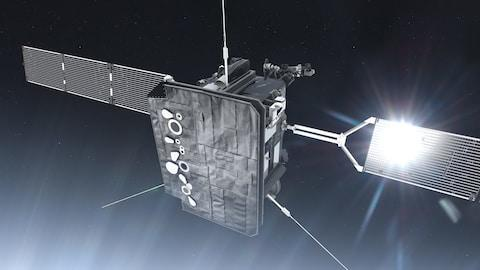 <span>The Solar Orbiter will carry a telescope to allow closer pictures to the Sun than ever before</span> <span>Credit: ESA </span>