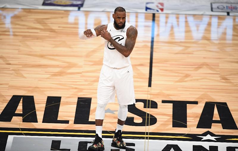 LeBron James said he believed US President Donald Trump