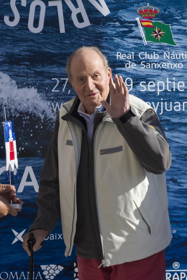 Juan Carlos I of Spain has been accused of money laundering. (Photo: Europa Press Entertainment/Europa Press via Getty Images)