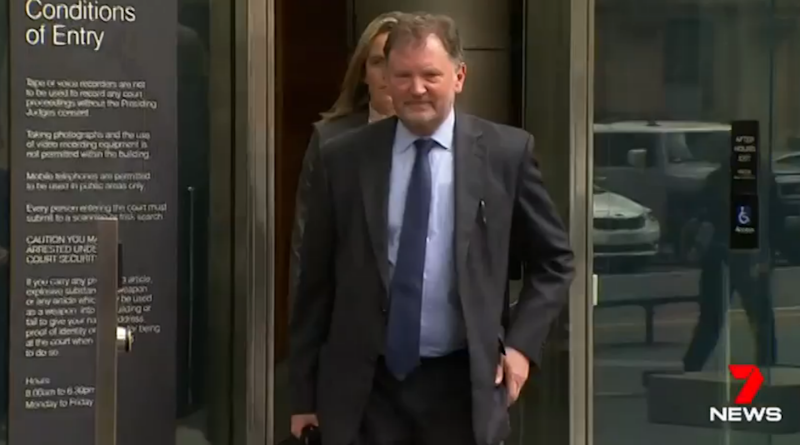 Mr Ristevski went to meet with criminal defence lawyer Rob Stary on Wednesday morning. Source: 7 News