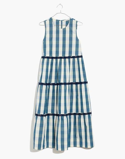 """<br><br><strong>Madewell</strong> Plus Rickrack Cattail Tiered Dress in Gingham Check, $, available at <a href=""""https://go.skimresources.com/?id=30283X879131&url=https%3A%2F%2Fwww.madewell.com%2Fplus-rickrack-cattail-tiered-dress-in-gingham-check-NA661.html"""" rel=""""nofollow noopener"""" target=""""_blank"""" data-ylk=""""slk:Madewell"""" class=""""link rapid-noclick-resp"""">Madewell</a>"""