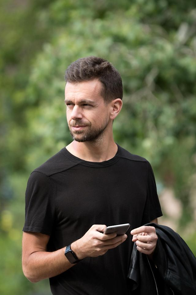 Jack Dorsey in 2016. (Photo: Drew Angerer/Getty Images)