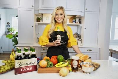 Celebrity chef Kelsey Barnard Clark partners with Yuengling, America's Oldest Brewery.