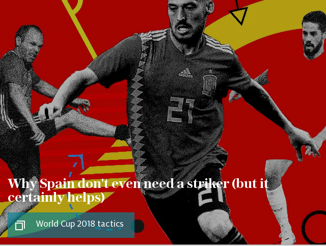 Spain World Cup tactics article