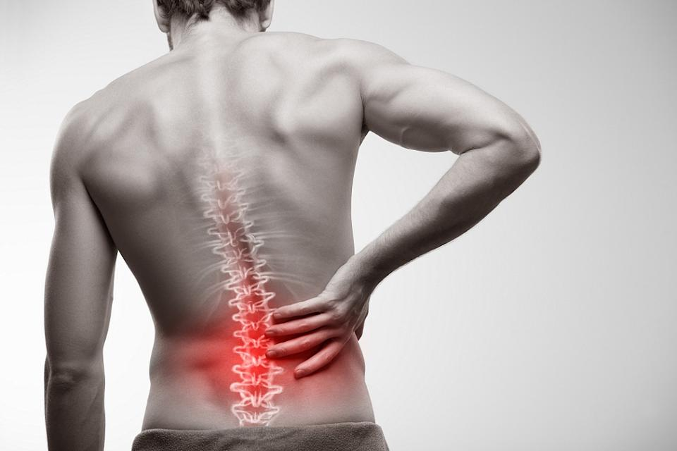 Backpain can occur either in the cervical spine (neck), the thoracic spine (upper and middle back) and the lumbar spine (lower back)