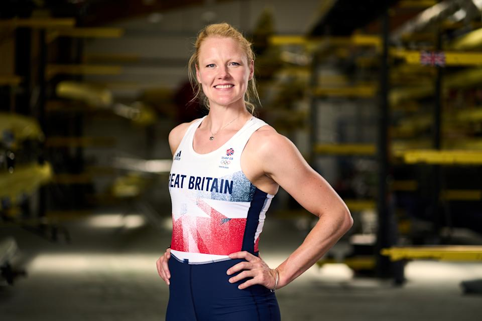 Great Britain's Polly Swann during the Team GB Tokyo 2020 Rowing team announcement at the Redgrave Pinsent Rowing Lake, Reading. Picture date: Wednesday June 9, 2021. (Photo by John Walton/PA Images via Getty Images)