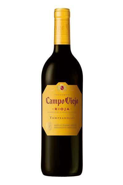 """<p><strong>Campo Viejo </strong></p><p>drizly.com</p><p><strong>$12.99</strong></p><p><a href=""""https://go.redirectingat.com?id=74968X1596630&url=https%3A%2F%2Fdrizly.com%2Fwine%2Frioja-blend%2Fcampo-viejo-rioja%2Fp2344&sref=https%3A%2F%2Fwww.goodhousekeeping.com%2Ffood-products%2Fg33644539%2Fbest-cheap-wine-brands%2F"""" rel=""""nofollow noopener"""" target=""""_blank"""" data-ylk=""""slk:Shop Now"""" class=""""link rapid-noclick-resp"""">Shop Now</a></p><p>You'll taste cherry, vanilla, and a hint of coffee. It's smooth and balanced, and perfect to drink when you're serving lamb or beef. </p>"""