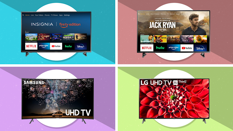 Pick a TV, any TV...and save big. (Photos: Amazon)