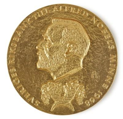 "A new record for any item sold in an online-only sale at Sotheby's was set when Friedrich von Hayek's Nobel Memorial Prize for Economic Science sold for $1.5 million, almost triple its pre-sale low estimate. Von Hayek's Nobel Prize, awarded for ""pioneering work in the theory of money and economic fluctuations"", led Sotheby's online-only sale of 27 lots from his personal collection which together realized $2.67 million, quadruple the pre-sale estimate."